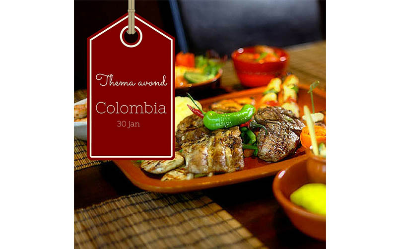 Thema avond: Colombia!