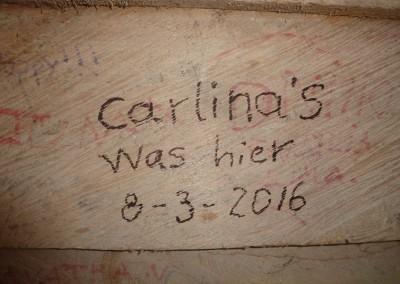 Carlina's was in Panama.