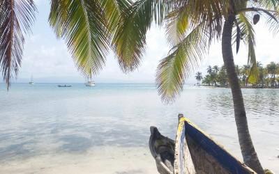 Carlina's reist door Panama!