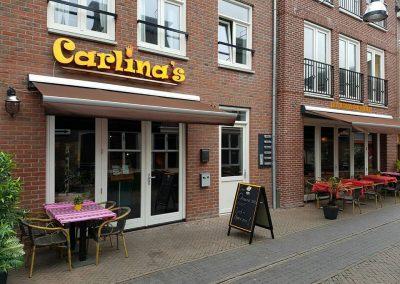 Carlina's vooraanzicht