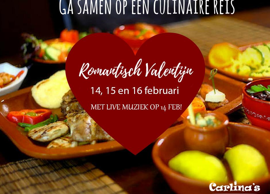 Vier valentijn bij Carlina's!