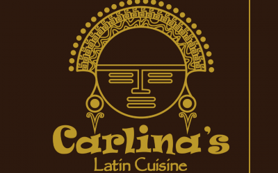 Carlina's logo: Bachué